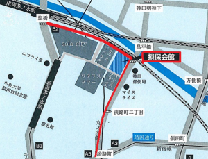 損保会館地図